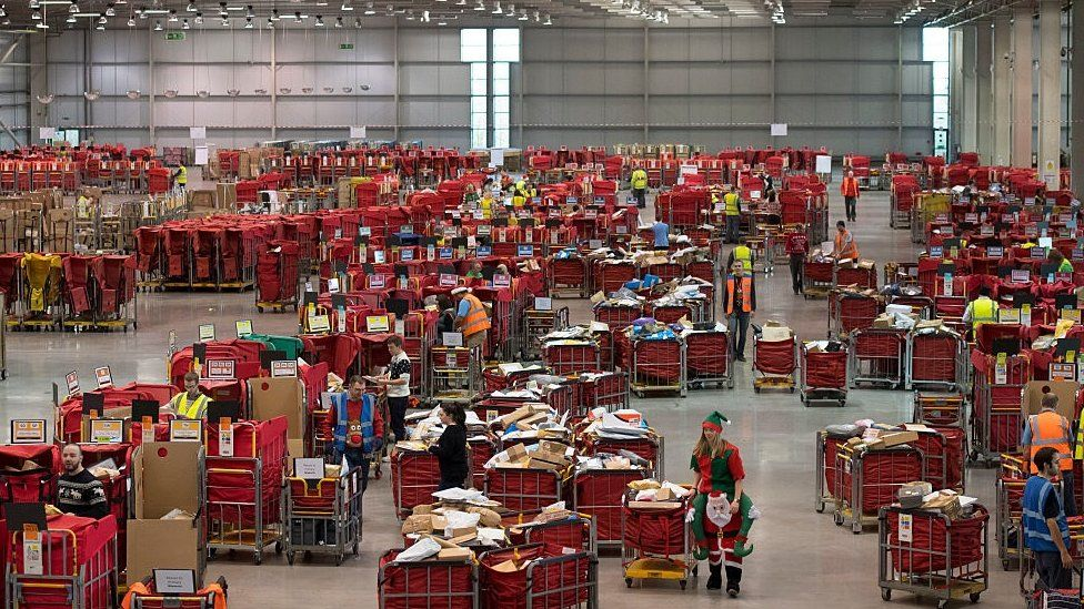 Royal Mail warehouse