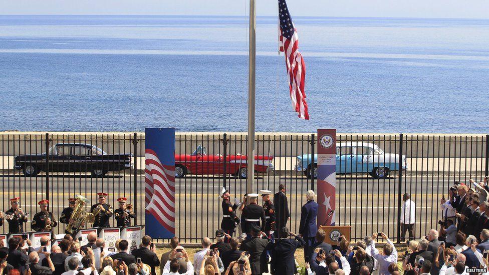US embassy flag