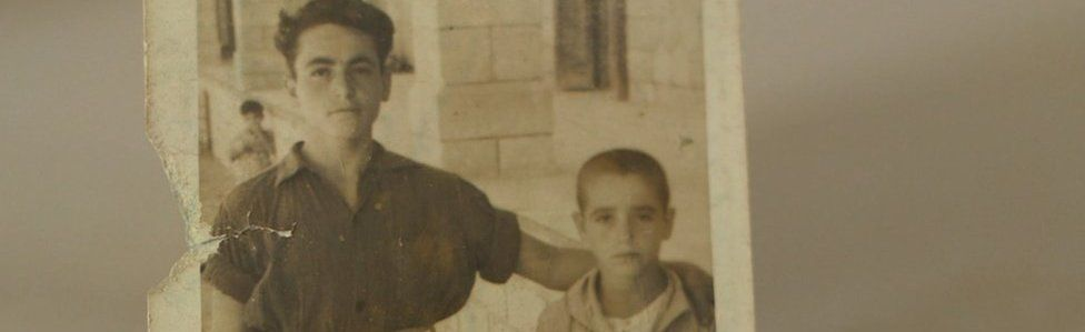 Stamatis and his older brother George