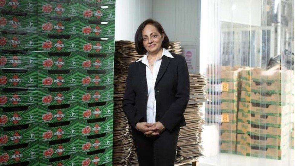 Nimisha Raja, chief executive and founder of Nim's Fruit Crisps