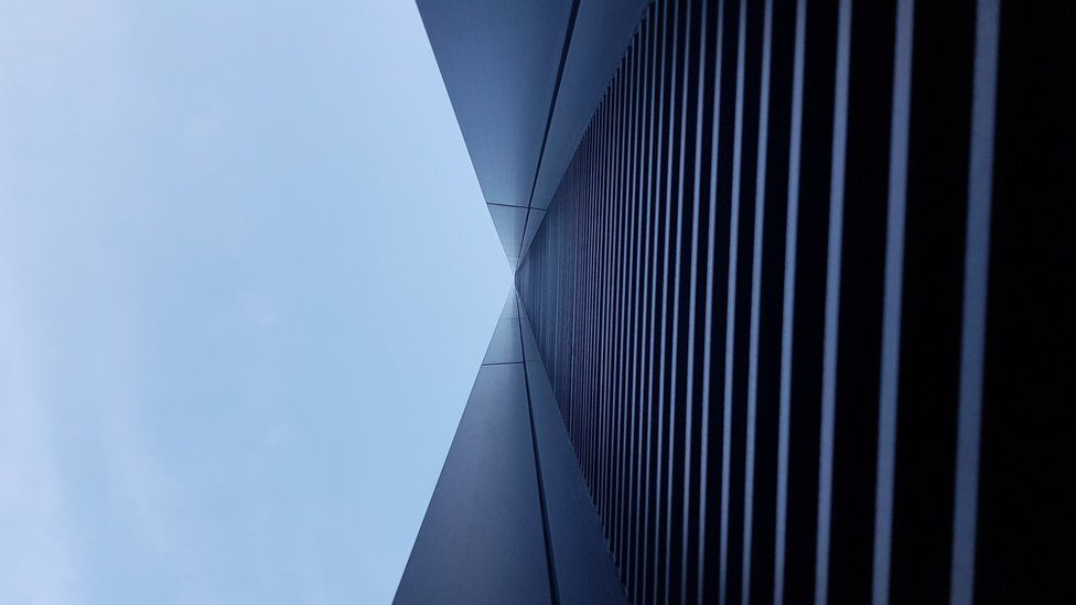 Side of a tall building