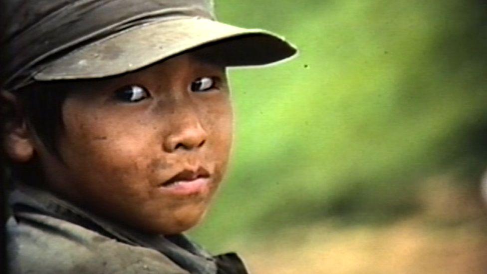 Laotian child