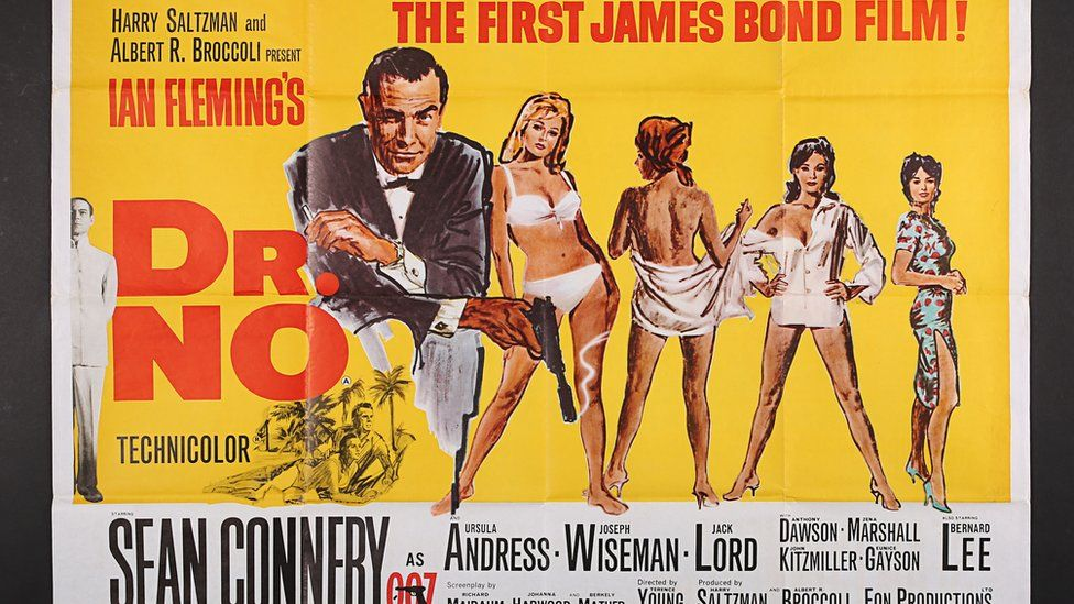 First James Bond film poster sells for £15k at auction