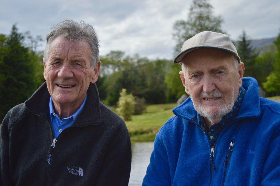 Sir Michael Palin and Dr Hamish MacInnes