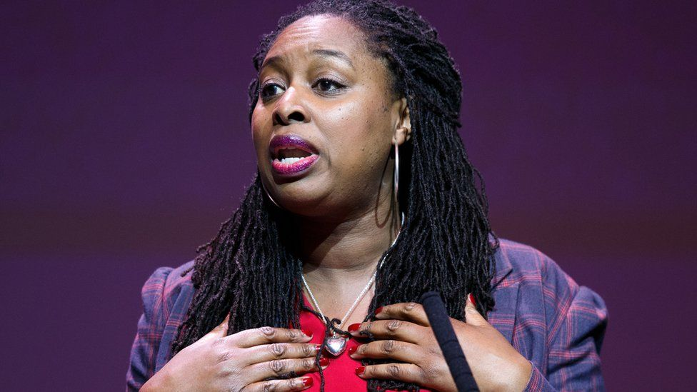 Dawn Butler speaking at the Labour Party deputy leadership hustings on the stage at SEC in Glasgow on February 15, 2020 in Glasgow, Scotland