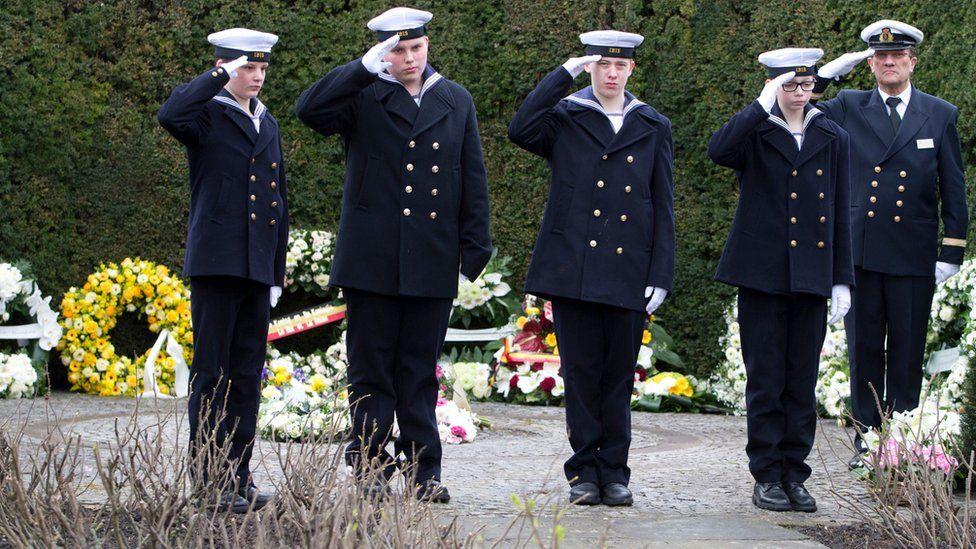 Memorial event in Zeebrugge