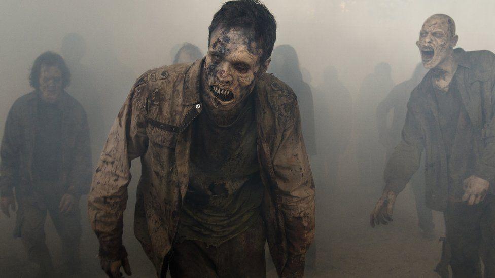 Walking Dead zombies, known as walkers