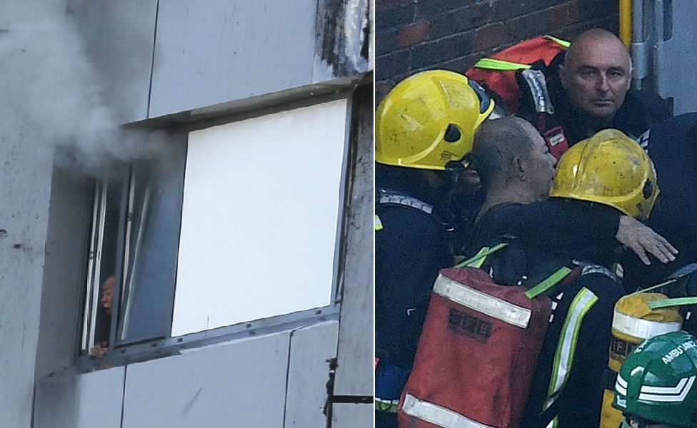 Man trapped and rescued
