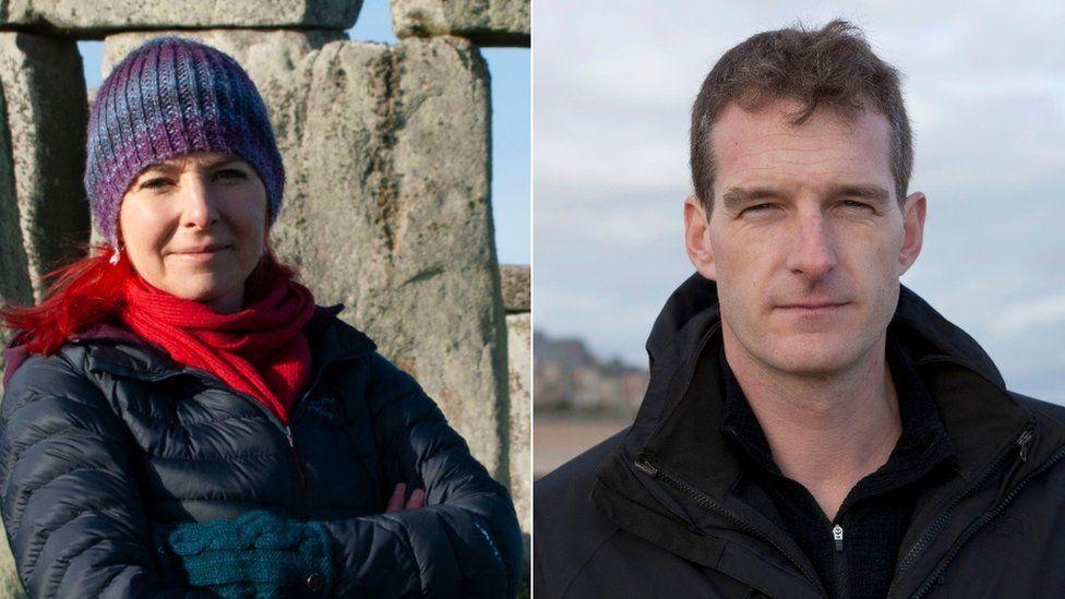 Prof Alice Roberts and Dan Snow