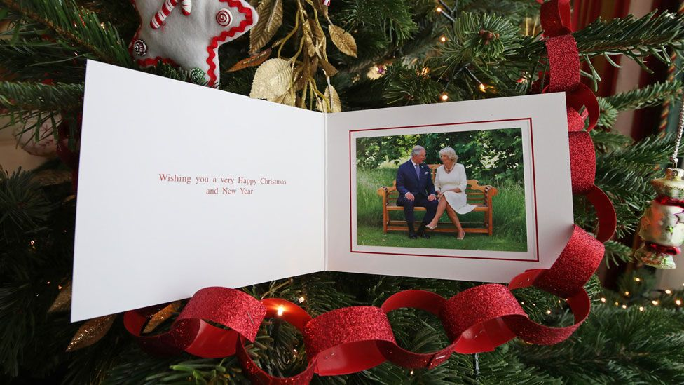 The Prince of Wales' Christmas card