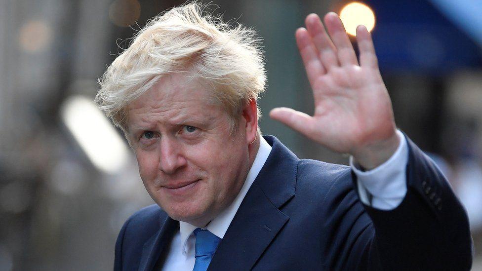 Boris Johnson on 23 July 2019