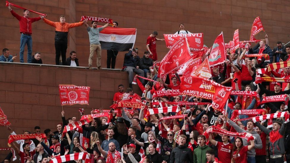 Champions League: Crowds number 750,000 at Liverpool parade