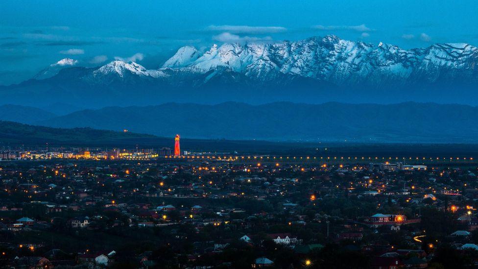 Ingushetia's capital Magas