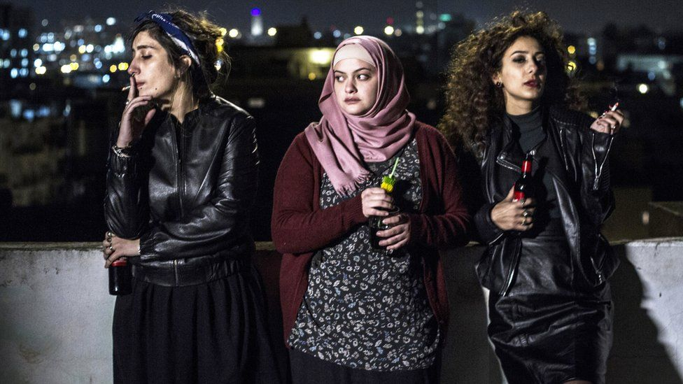 Sana Jammelieh, Shaden Kanboura and Mouna Hawa