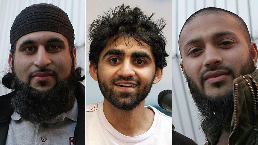Rhuhel Ahmed, Asif Iqbal and Shafiq Rasul
