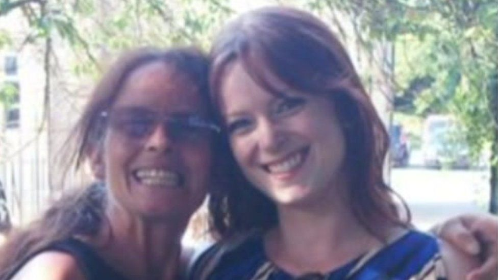 Heather Whitbread (left) and Michelle Savage