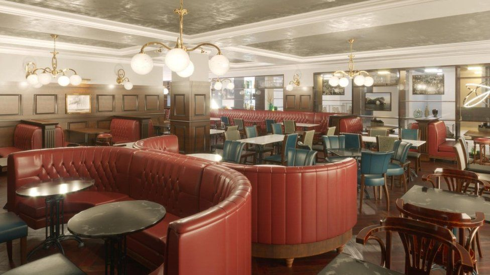 How the interior of the pub could look following its transformation