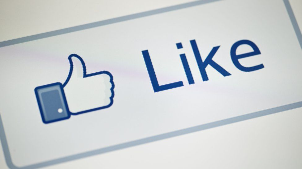 A view of Facebook's 'Like' button May 10, 2012 in Washington, DC.