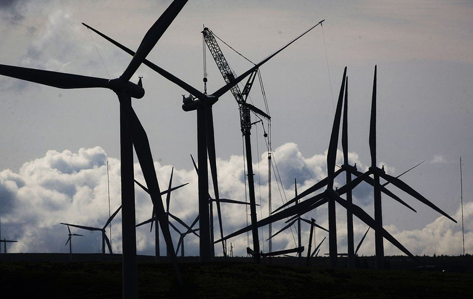 Whitelee windfarm, East Renfrewshire