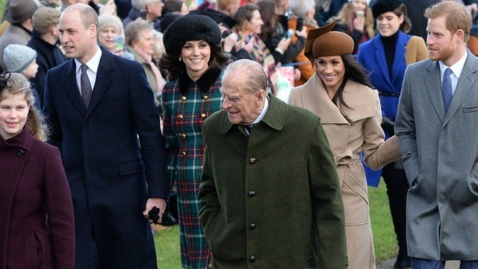 Prince Philip at Sandringham