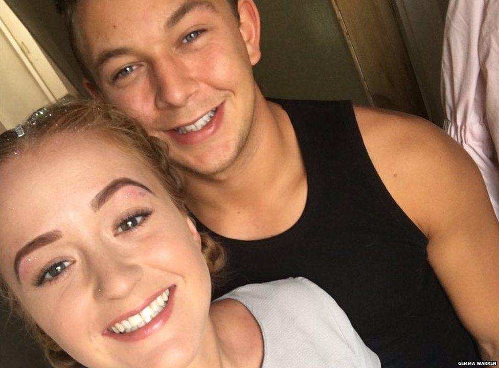 Gemma and James