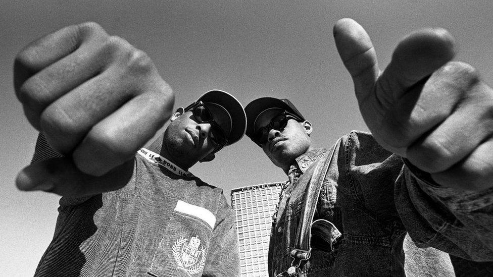 Gang Starr in 1991