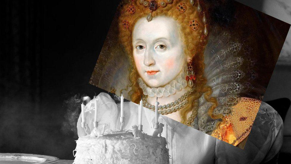 Королева Єлизавета I прожила до 70