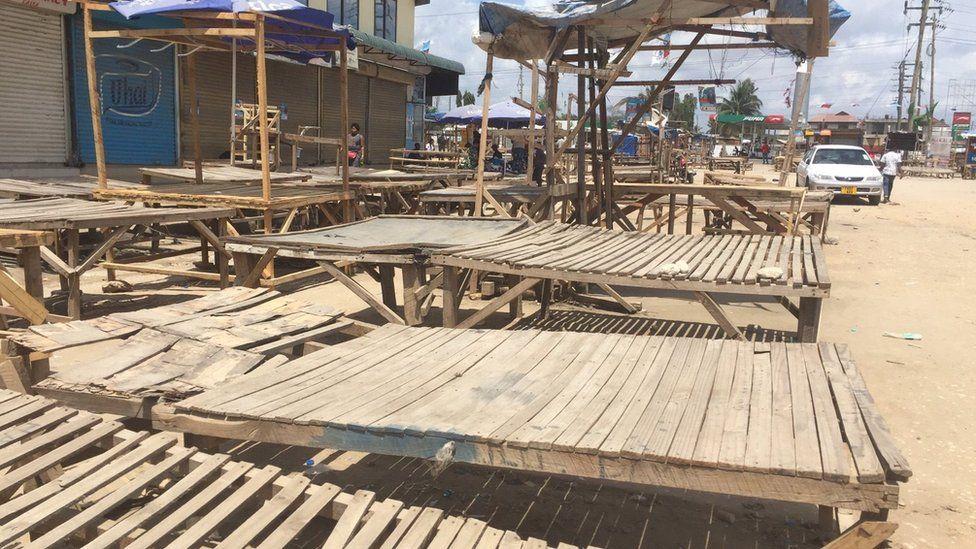 Market in Dar es Salaam