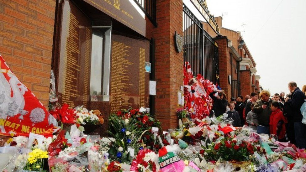 Tributes to the 96 on the 20th anniversary of the Hillsborough disaster