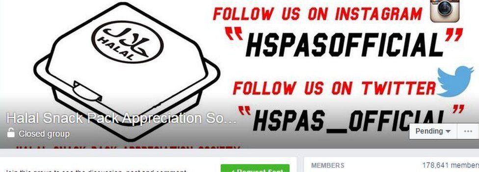 Halal Snack Pack Appreciation Society