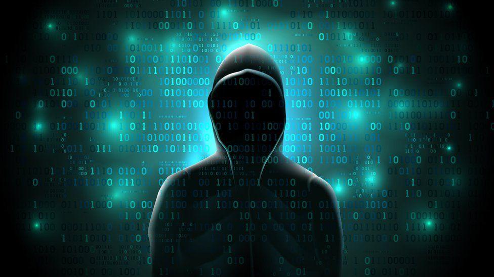 Ilustração de hacker