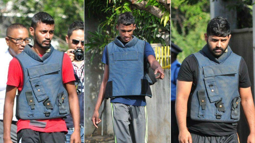 Mauritius murder suspects