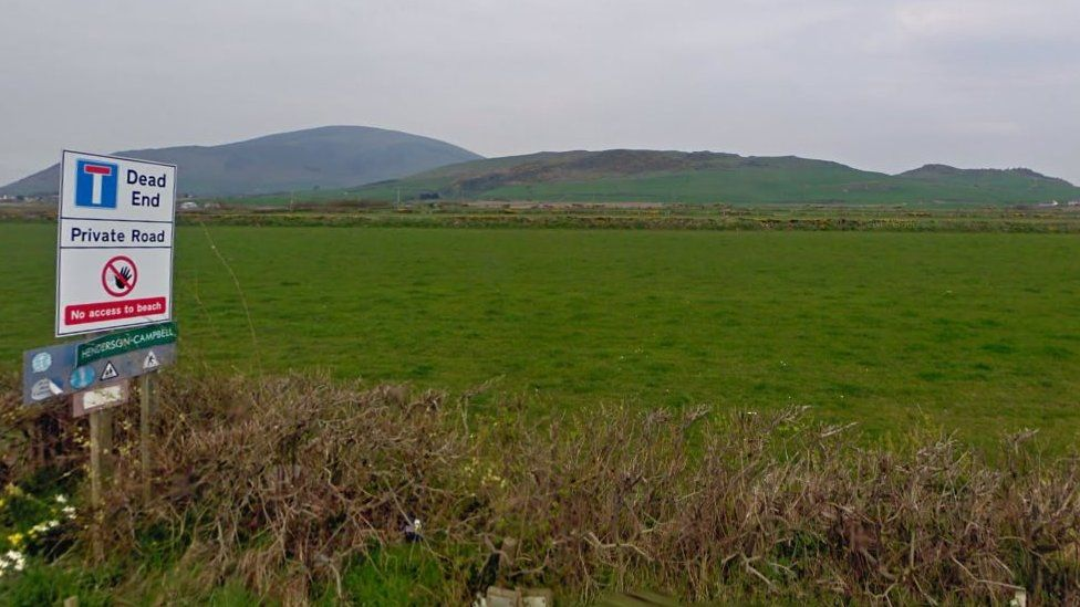 Hills as seen from the prison