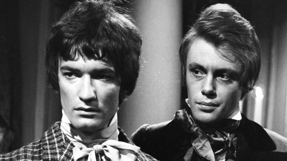 Vivian MacKerell and Cavan Kendall in the BBC's 1967 dramatisation of Les Miserables