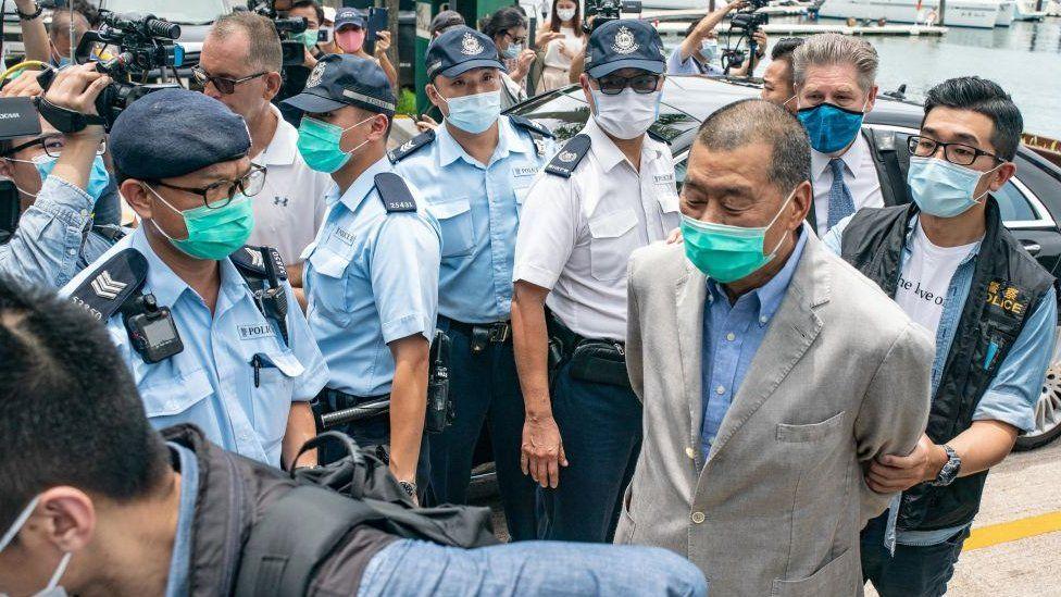 Jimmy Lai arrest
