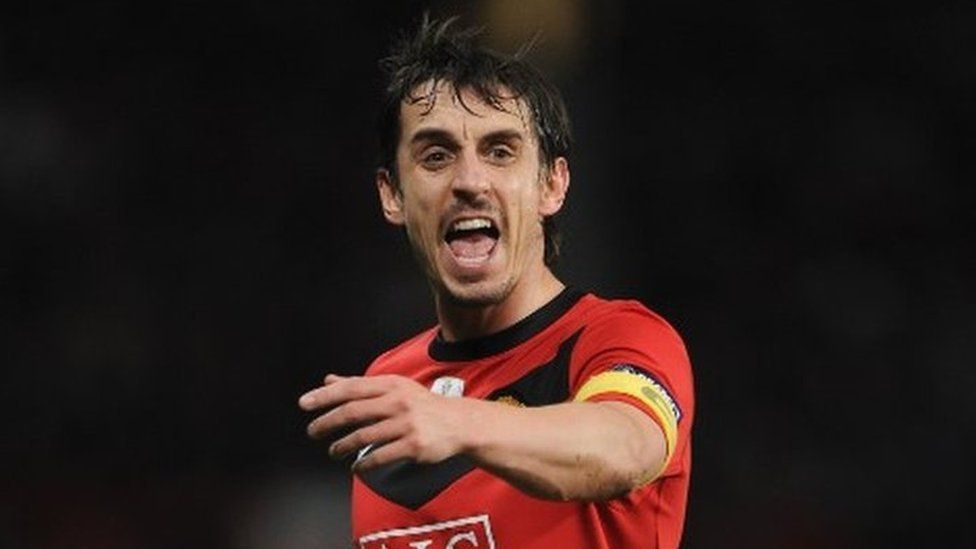 Gary Neville was Manchester United club captain for five years