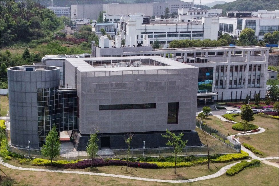 The laboratory at the Wuhan Institute of Virology