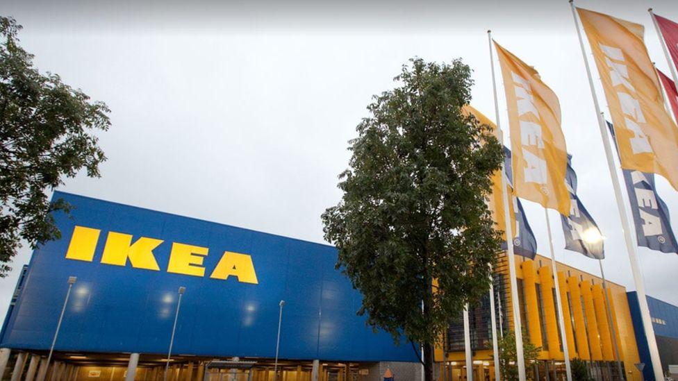 Ikea's Cardiff store