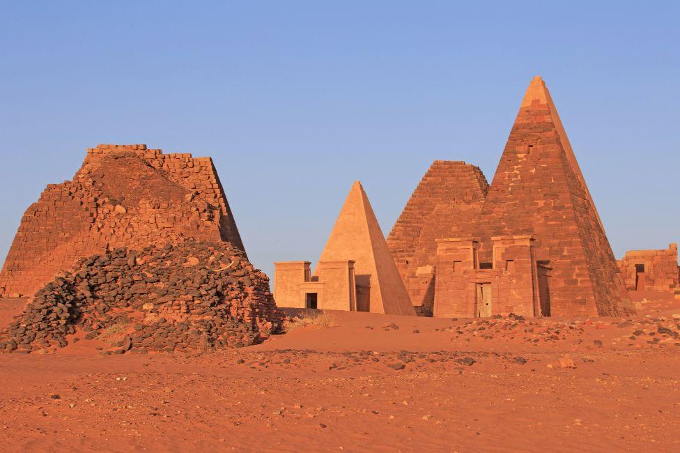Pyramids of Meroë, Sudan