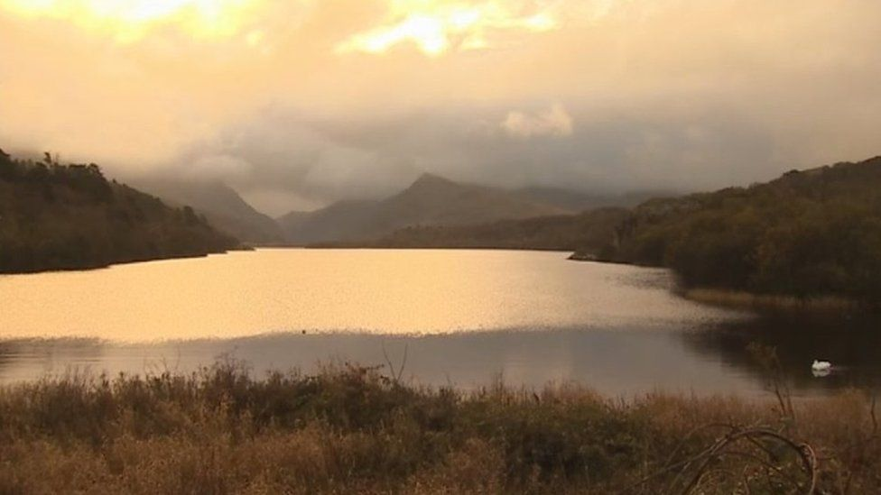 Lake at Llanberis