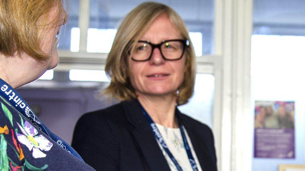 Dr Claire Mould, CEO of Cintre