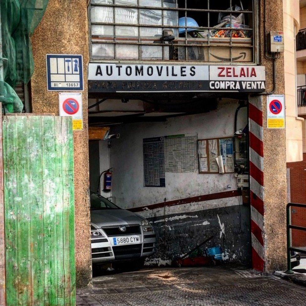 Garage in Bilbao