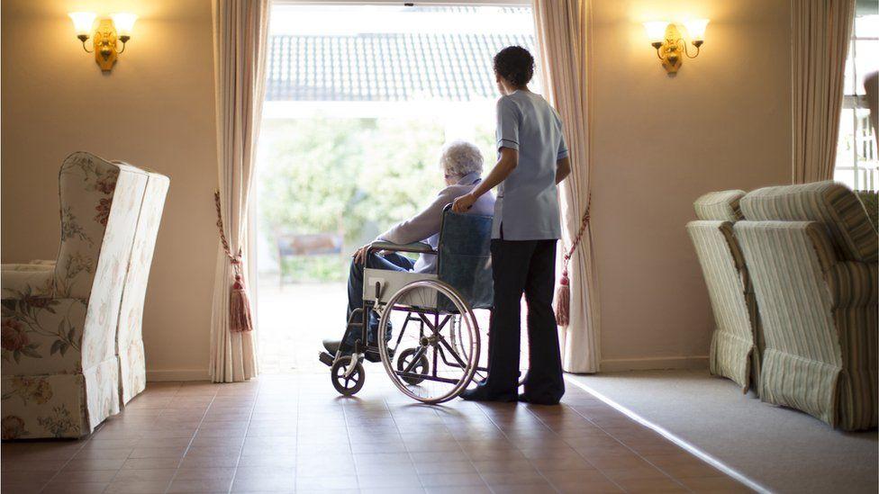 A care home (file image)