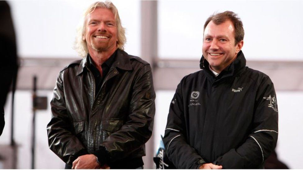 Richard Branson and Will Whitehorn