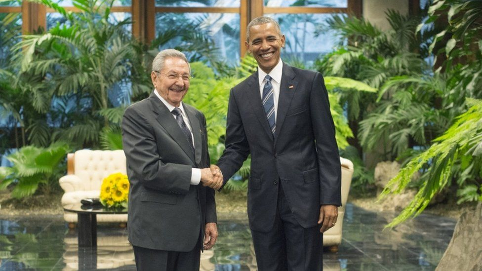 In 2016 Barack Obama became the first US president to visit Cuba since 1928
