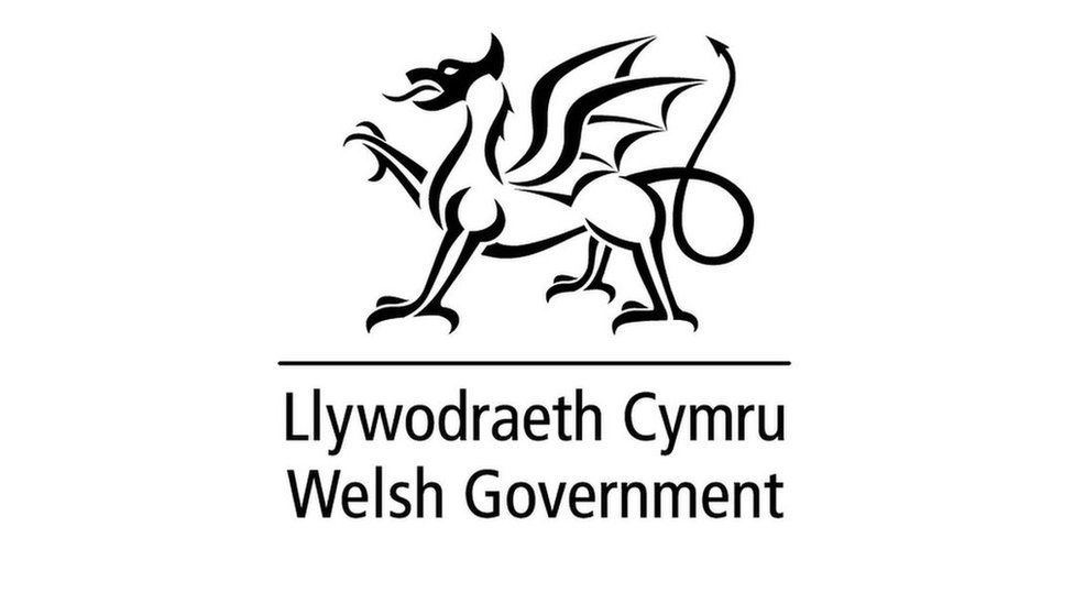 Welsh Government dragon logo used for stickers and snacks - BBC News
