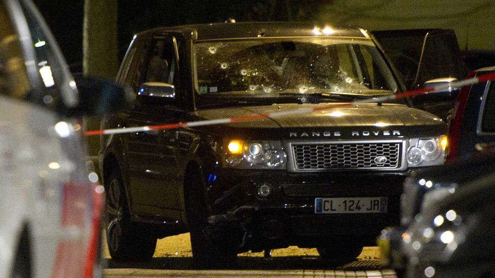 Szene des Mordes an zwei Jungen im Dezember 2012 in Amsterdam