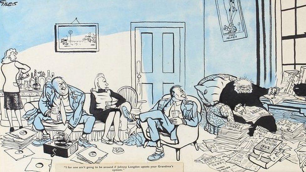 Giles cartoon