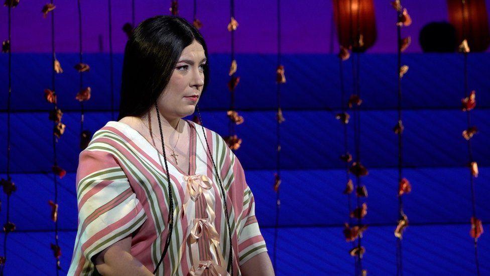 Natalya Romaniw as Madam Butterfly