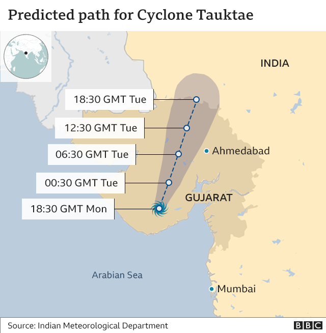 Cyclone Tauktae: Ninety missing at sea in the wake of storm,harbouchanews